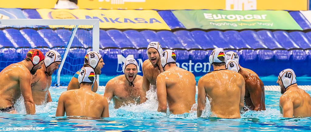 FINA Men's Waterpolo World Cup Berlin | Deutschland auch am 2. Spieltag souverän und standhaft