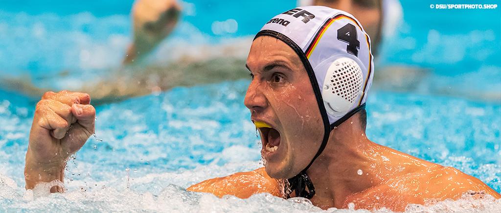 FINA Men's Waterpolo World Cup Berlin | Berlin bebt: Deutschland qualifiziert sich als Gruppenerster für das Viertelfinale